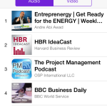 Entreprenergy Number 1 on Business Top Charts