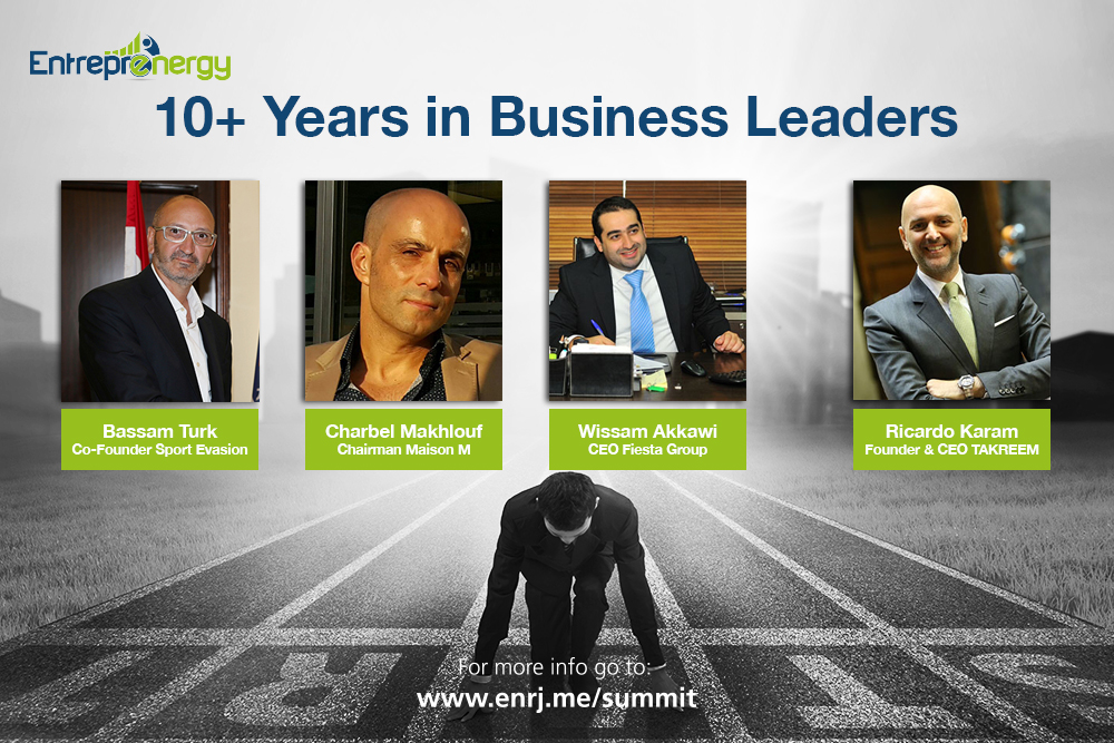 10+ years in Business Leaders Panel - Entreprenergy Summit