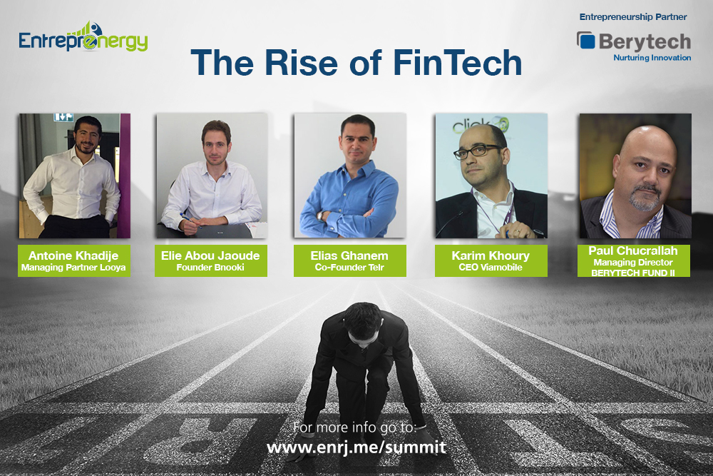 The Rise of FinTech - Berytech Panel