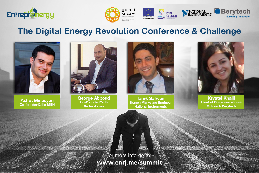 The Digital Energy Revolution Conference and Challenge - Berytech Conference